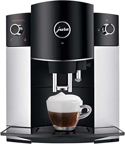 Jura D6 Máquina automática de café, 1, Platino