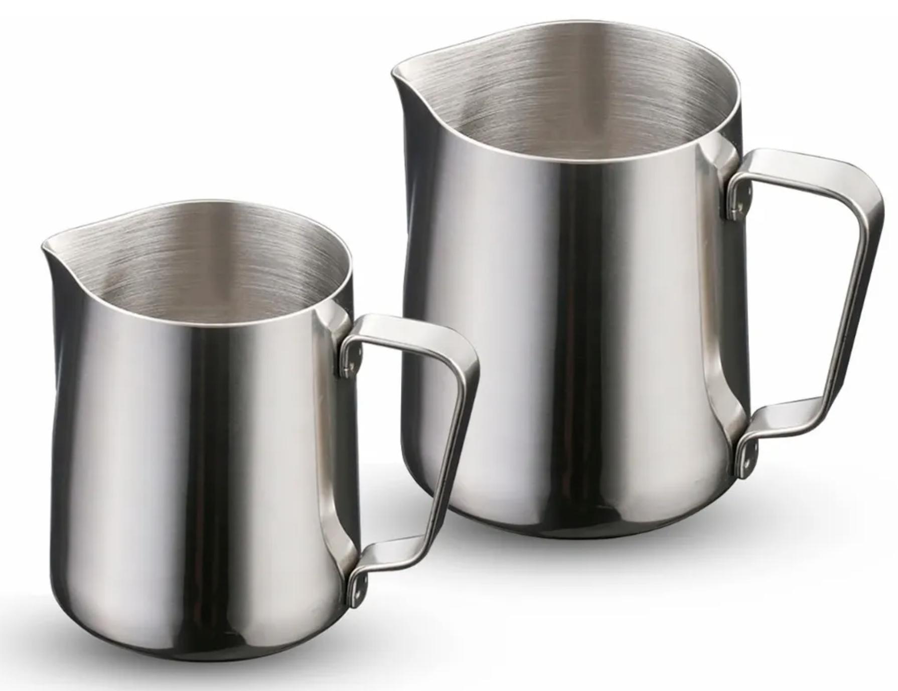 ricco-aroma-jarras de acero inoxidable para cafe varios tamaños